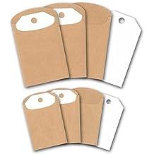 Briefumschlage24 Plus Lot De 50 Mini Enveloppes Pour Cartes Visite Blanc 6 X 9