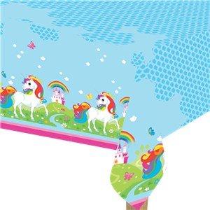 Amscan International 9902104Einhorn Tischdecke aus Kunststoff 1,2m x 1,8m