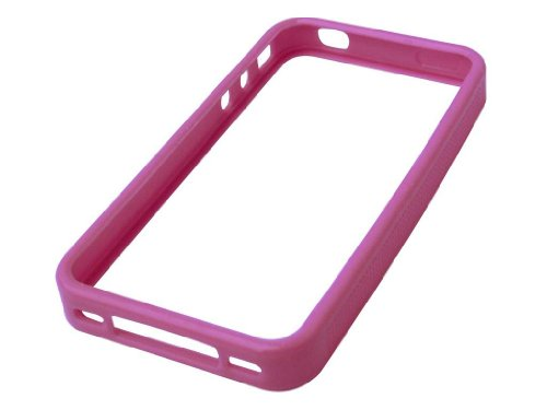 SANDBERG Soft Frame fuer iPhone 4 Transparent Pink