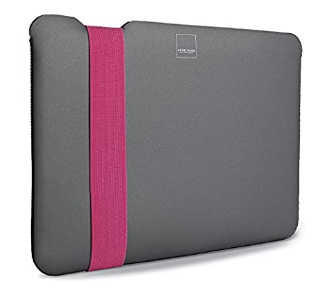 Skinny Housse pour MacBook Pro 38,1 cm Gris/rose (acme-made)