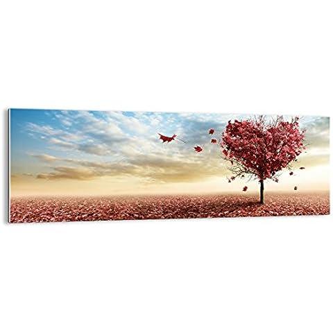 Quadro su vetro - elemento unico - larghezza: 140cm, altezza: 50cm - numero dell'immagine 2609 - pronto da appendere - Arte digitale - Moderno - Quadro in vetro - GAB140x50-2609