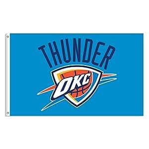 Oklahoma City Thunder NBA Drapeau