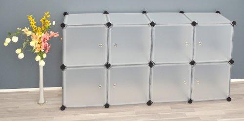 Transparentes Badezimmer Regalsystem - 7