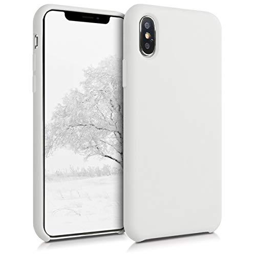 kwmobile Apple iPhone XS Hülle - Handyhülle für Apple iPhone XS - Handy Case in Weiß