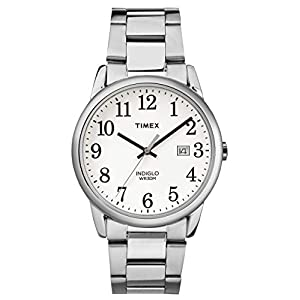 Timex Reloj Analógico para Hombre de Cuarzo con Correa en Acero Inoxidable
