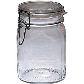 Bormioli Jar with swing top, Fido, size: 1.0 litre