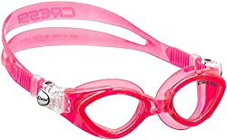 Cressi Kinder Schwimmbrille King Crab, rosa, Small, DE202240