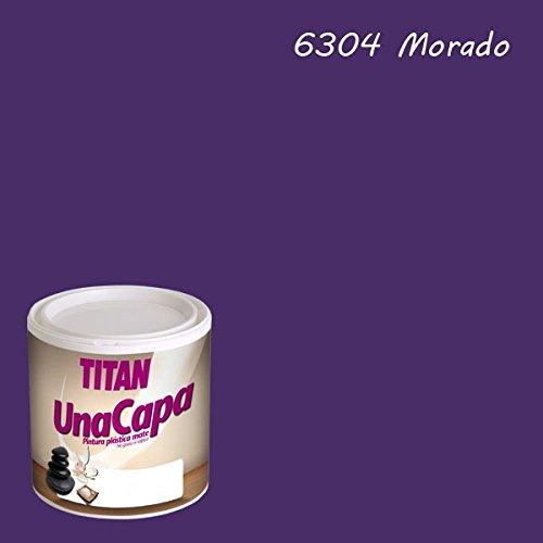 Int Einzigen (Industrien Titan. S.L 69630434Wandfarbe matt 750ml Quartier int. mono eine Schicht Titan)