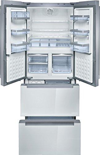 Bosch KMF40SW20 frigo américain - frigos américains (Autonome, Blanc, Porte française, LED, toucher, LCD)