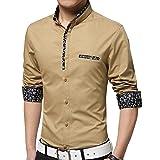 Zolario Cotton Shirt for Boys| Age 13-14 Years | Colour: Brown
