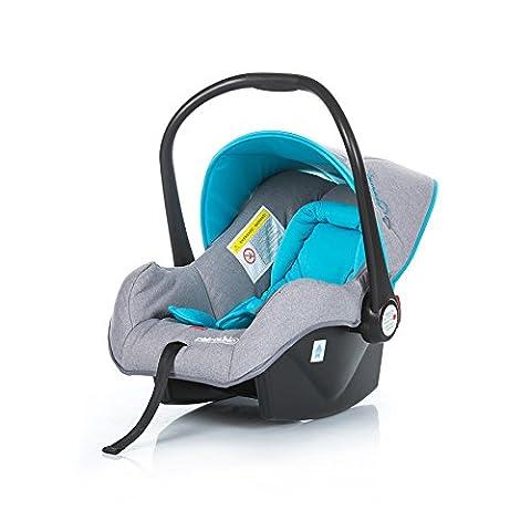 Chipolino Kindersitz, Babyschale Dakota Gruppe 0+ (0 - 13 kg) mit Innenkissen (Blau)