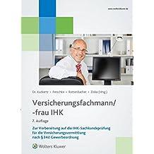 Versicherungsfachmann/-frau (IHK)