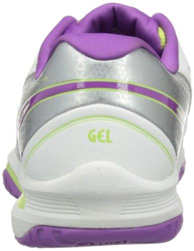 ASICS - Gel-Solution Lyte 2, Scarpa da donna bianco(Weiß (0136-White/Grape/Lightning))