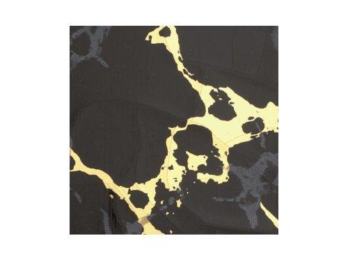 EFCO–Wachs Spannbetttuch, Marmor schwarz, 200x 100x 0,5mm