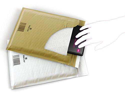 CD weiß Luftpolsterumschläge 180 x 160 mm 200 Mail Lite Luftpolstertaschen Gr