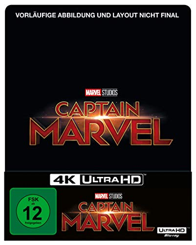 Captain Marvel Steelbook Edition [4K Uhd + Blu-ray 2D]