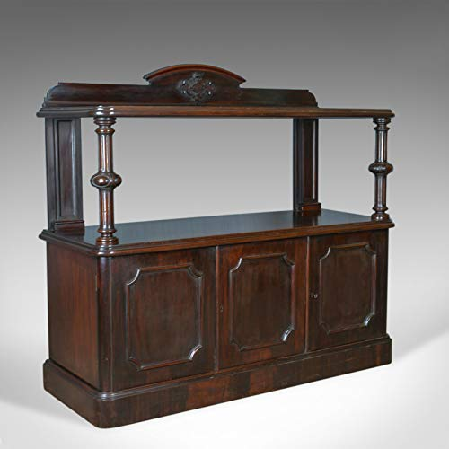 London Fine Antiques Antique Buffet Sideboard, englisch, viktorianisch, Mahagoni, Server Circa 1880 -