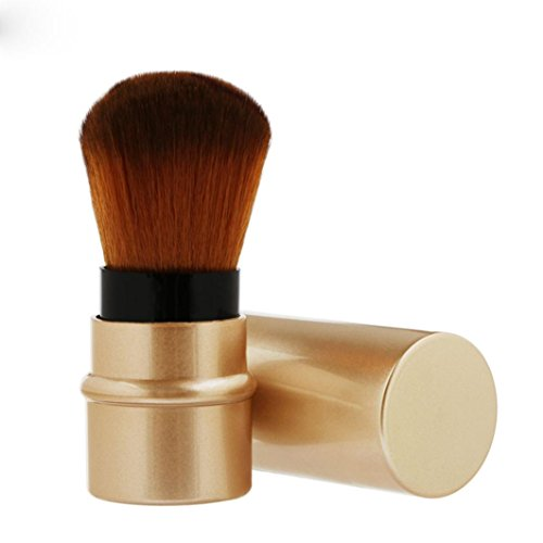 MuSheng(TM) 1cp poudre anti - cernes maquillage brosses brosse brosse contour bois rougir (Or)