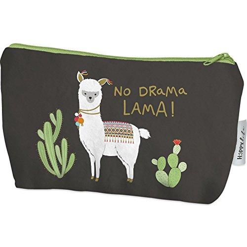 ein kaktus zum valentinstag Die Geschenkewelt 45571 Plüsch-Mäppchen mit Happy Life Lama-Motiv und Kaktus, mit Spruch No Drama Lama, 20 cm x 12 cm x 4 cm, mit Reißverschluss, Geschenk-Artikel