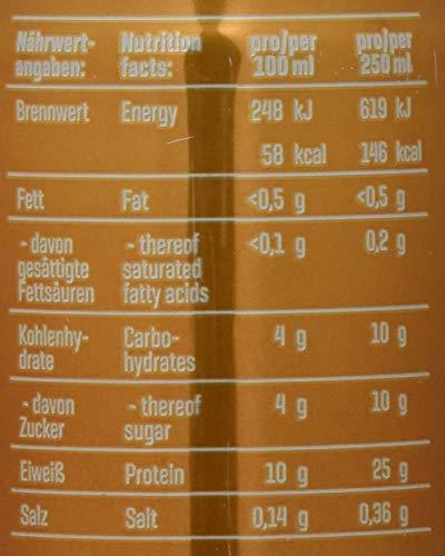 Body Attack Protein Coffee Latte Caramel, 250 ml
