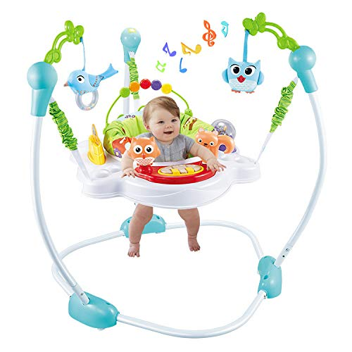 Jumperoo Chaise De Bébé Portable Nouveau-né Baby Activity Centre Activité Jumper Rainforest