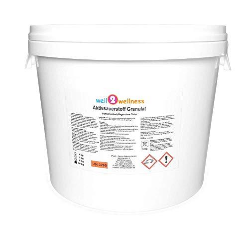 well2wellness Aktivsauerstoff Granulat/Sauerstoff Granulat/O²-Granulat - 10 kg