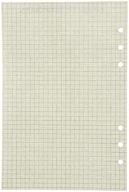 Elonglin 5 Pack A5 Refillable Paper-Dotted Paper+Lined Paper+Blank Paper, Planner Inserts 21 x 14cm Standard 6