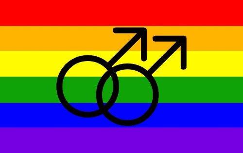 kleber Regenbogen Rainbow Male gay Männer Mann Pride Sticker Aufkleber für Auto Motorrad Handy (Gay-pride-dekorationen)