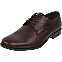 Red Tape Men's Brown Leather Formal Shoes - 7 UK/India (41 EU)