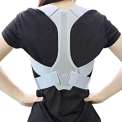 ANOOPSYCHE Geradehalter zur Haltungskorrektur, Schulter Rücken Haltungsbandage Verstellbare, Rücken Geradehalter für Damen und Herren von ANOOPSYCHE