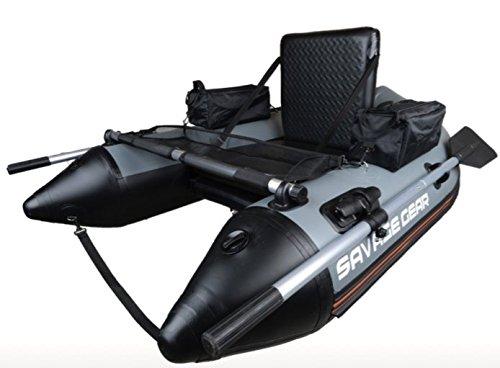 Savage Gear High Rider Belly Boat 170 - Bateau Belly pour la pêche à la mouche et au lancer depuis un bateau, bateau gonflable