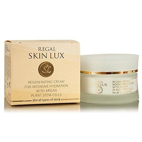Regal Skin Lux - Crema Regeneradora Hidratante con Células madre de Argán para todo tipo de piel 30+