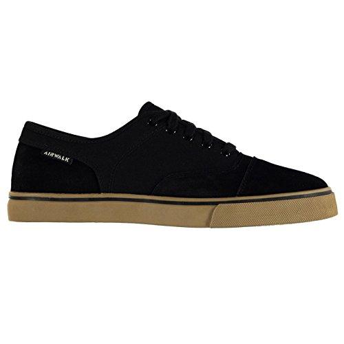 airwalk-tempo-sur-toile-chaussures-de-skate-noir-pour-homme-baskets-sneakers-chaussures-noir-uk10-eu