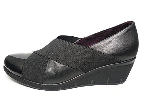Scarpe pensati Donna Pitillos-Nero Combinato verniciata e lycra-1825-568 nero Size: 36