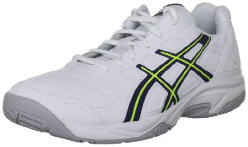 Asics Gel Estoril Court M, Scarpe da Tennis Uomo White/Navy/Flash Yellow