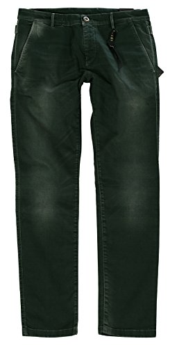 SELECTED Premium Denim Herren Jeans, Herren Hose Bela Chino Slim Fit Pant SCI 18 Grün