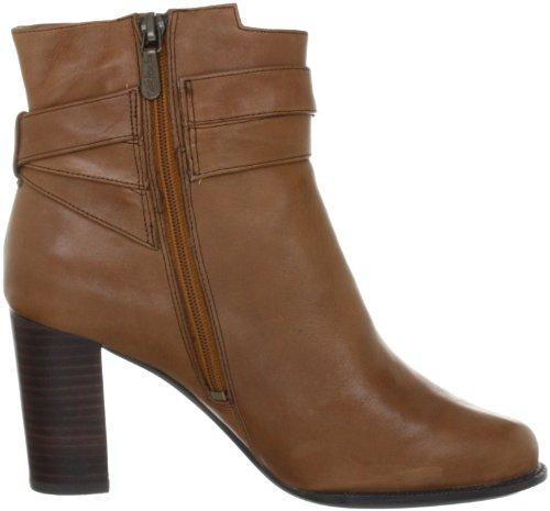 Clarks Lotta Beccles, Boots femme Marron (Dark Tan Lea)