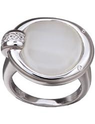 Orphelia Damen Ring White Cateye 925 Sterlingsilver mit Zirkonia