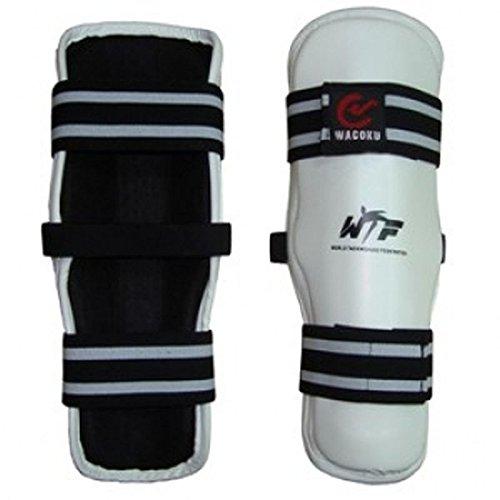WACOKU WTF Schienbeinschutz für Taekwondo S