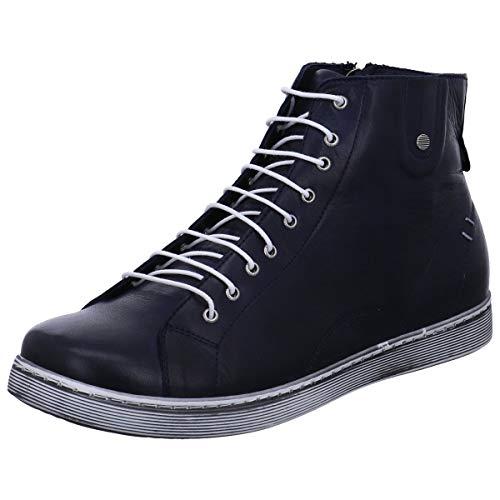 Andrea Conti Damen 0027913 Hohe Sneaker, Blau (D.Blau 017), 41 EU