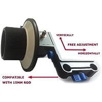 CAMSMART®Follow Focus Finder F1A pour 15 mm tige Support DSLR et caméras vidéo avec gear ceinture (F1A)