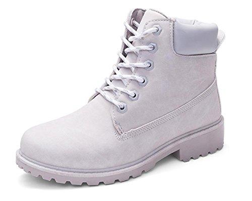 Autunno e l'inverno stivali femminili casuale stivali Martin stivali all'aperto Grey