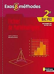 Fichier de Mathématiques - 2e Bac Pro