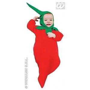 widmann-wdm3593W traje Niños Unisex, Verde, Rojo, Amarillo, wdm3593W