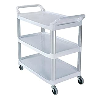 Rubbermaid Commercial Products 1814567 Xtra Open Cart, White