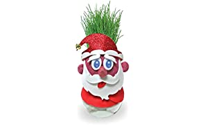 Toiing Plantoi Santa Unique Christmas Gift Plant Toy That Grows Real Grass