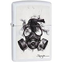 Zippo Unisex Spazuk Regular Windproof Lighter, White Matte, One Size
