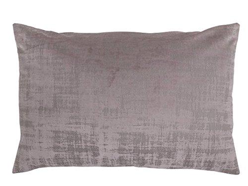 Antilo - Funda de cojín BAKER 60x40 - Color Malva Decoración para la cama o el sofá, complemento...
