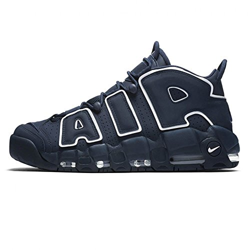 Nike AIR MORE UPTEMPO '96 921948-400 (42,5, Obsidian/Obsidian-White) (Air 9 Blau Jordan)