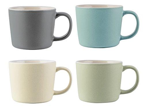La Cafetiere Ensemble de 4 Tasses à Expresso, Multicolore